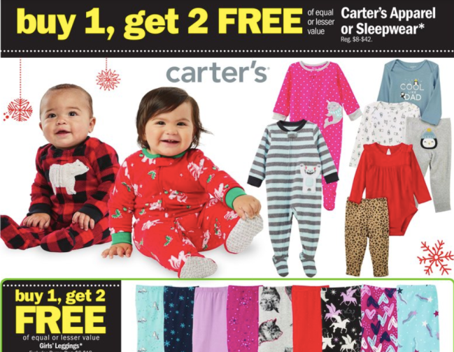 Carter's Baby deal at Meijer Black Friday