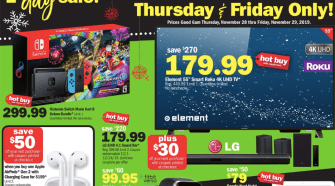 Meijer Black Friday 2019 {Thursday + Friday sale!}