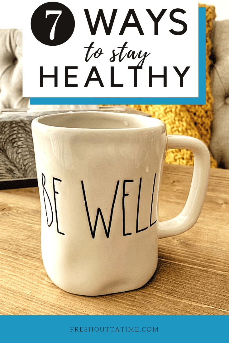 Staying healthy is one way to save money. The cold and flu season is here, and I'm sharing 7 ways to stay healthy + save money during this time of the year.