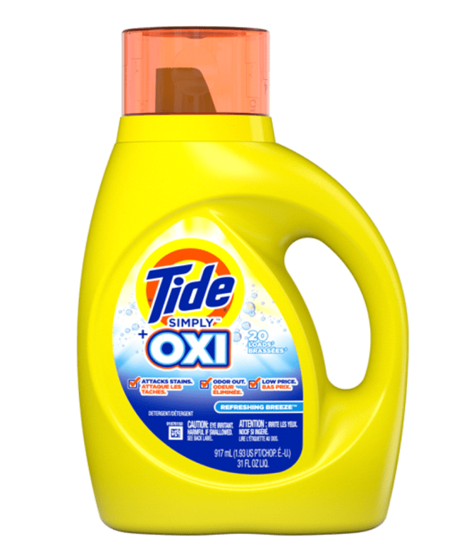 Tide Simply Detergent deal at Meijer