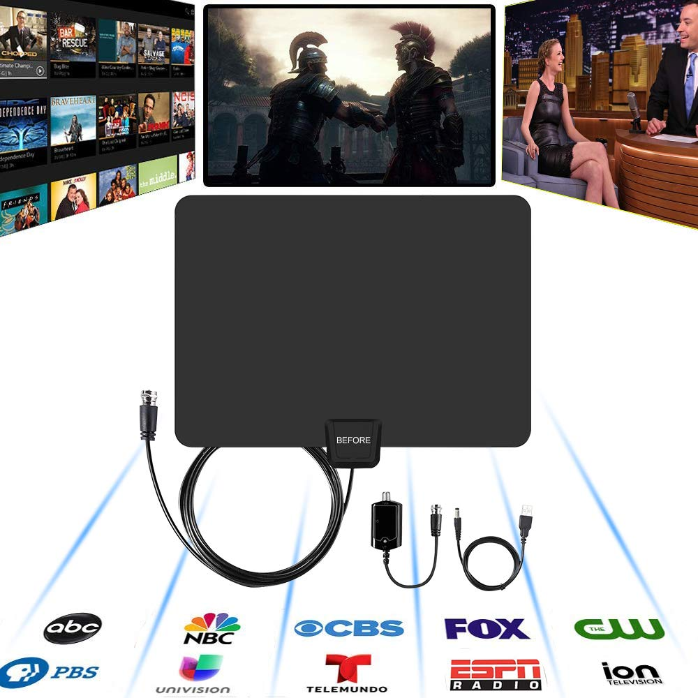 Amazon Deal: Amplified HD Digital TV Antenna $9 60 After