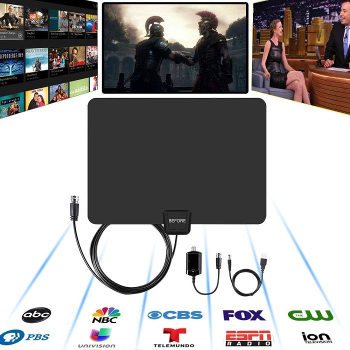 Amazon Deal: Amplified HD Digital TV Antenna $9 60 After Coupon Code