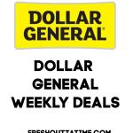 Dollar General Weekly Deals