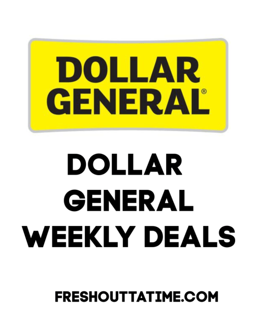 Dollar General Weekly Deals