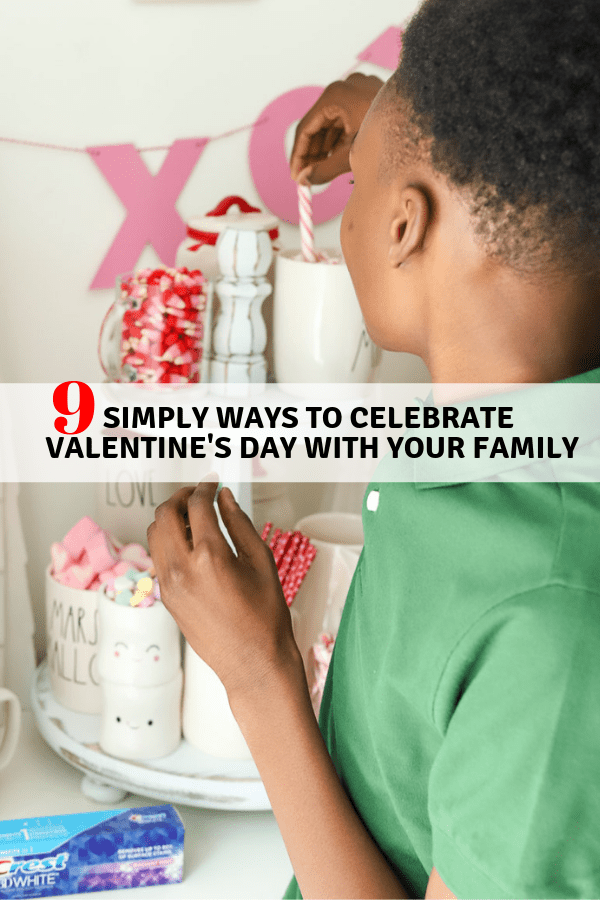 Don't overthink ways to celebrate Valentine's Day with your family. I'm sharing simple ideas on how you can say and show your love to your kids without breaking the bank.
