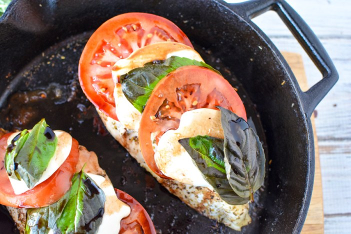 How to Make Chicken Caprese
