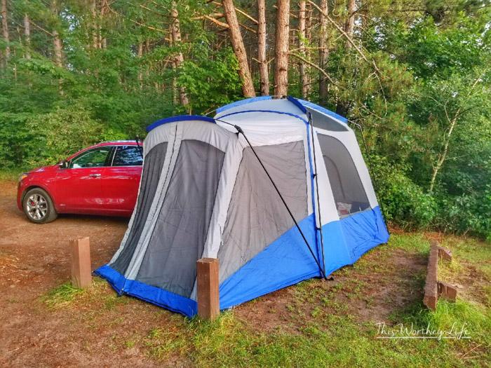 Best camping spots in Michigan