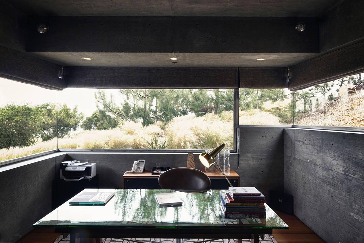 Home Office Glass Desk Extraordinary Contemporary Home