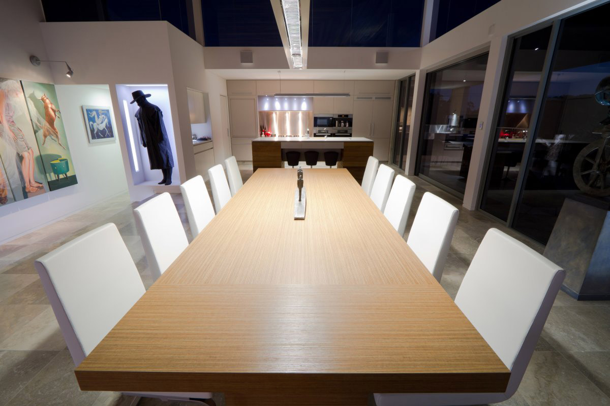 Dining Table, Kitchen, The 24 House in Dunsborough, Australia