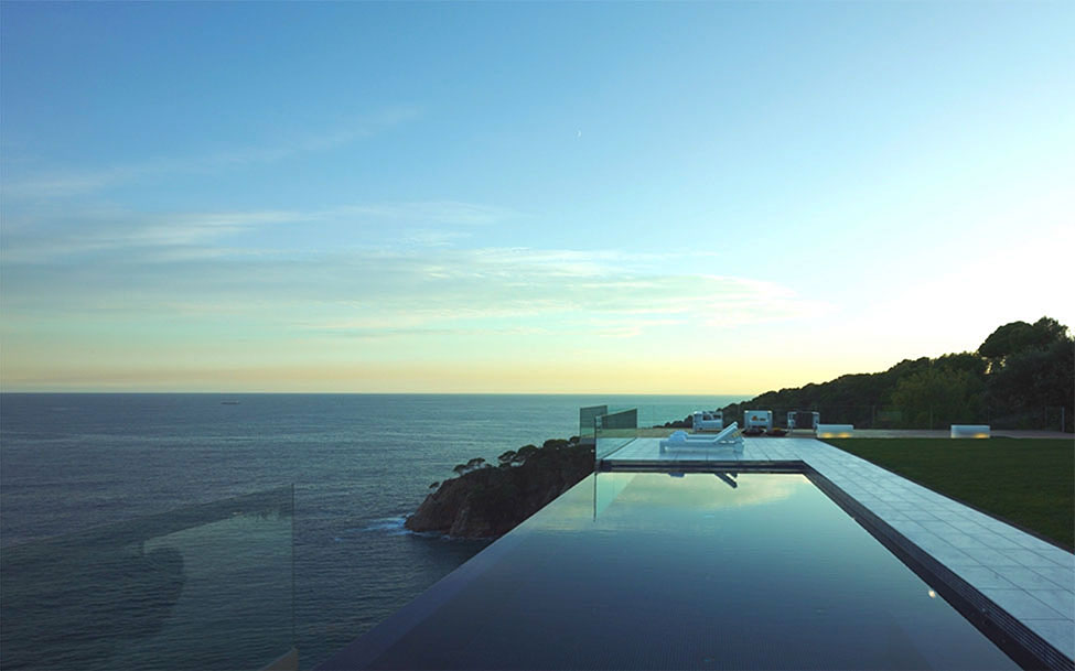 Spectacular Oceanfront Home In Tossa De Mar Spain