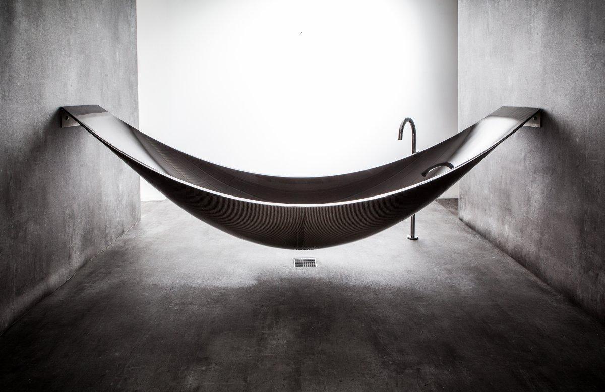 Suspended Carbon Fibre Bath Vessel By Splinter Works