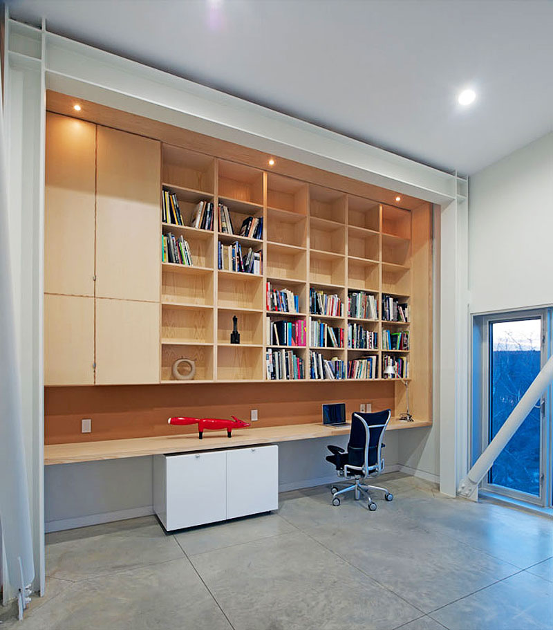 Home Office, Home in Port Mouton, Nova Scotia