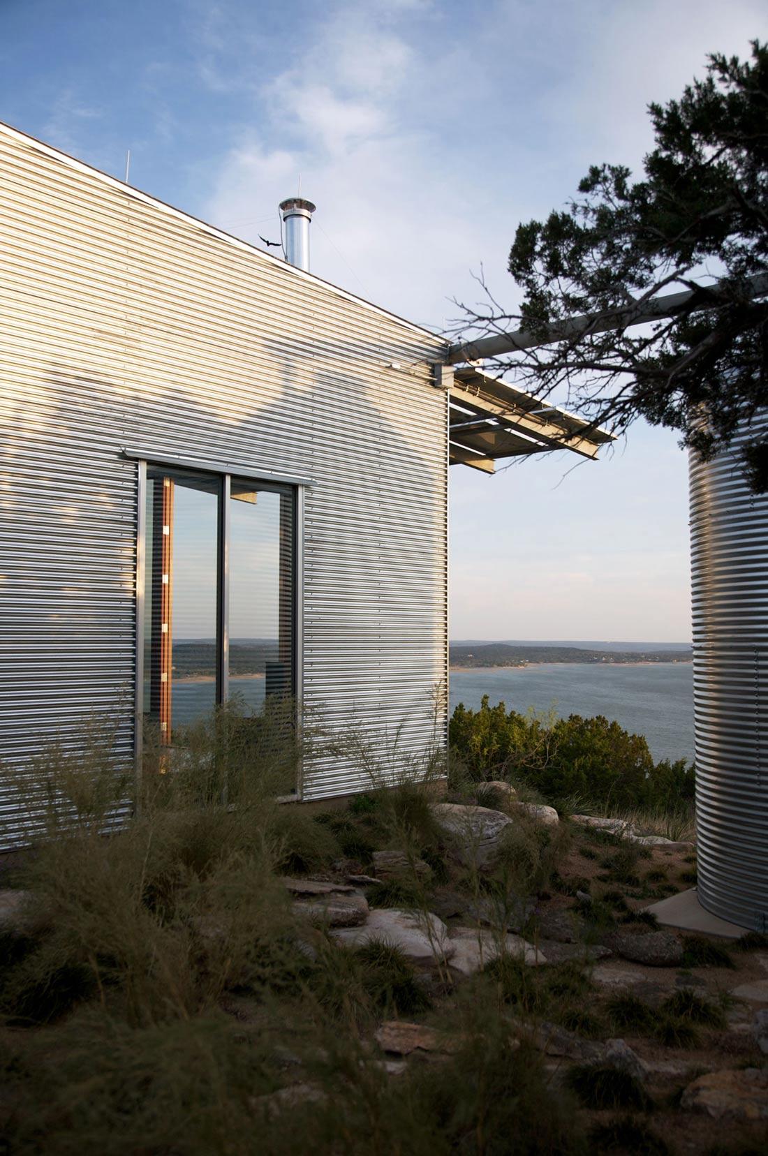 Simple Eco Friendly Home Perched Above Lake Buchanan Texas
