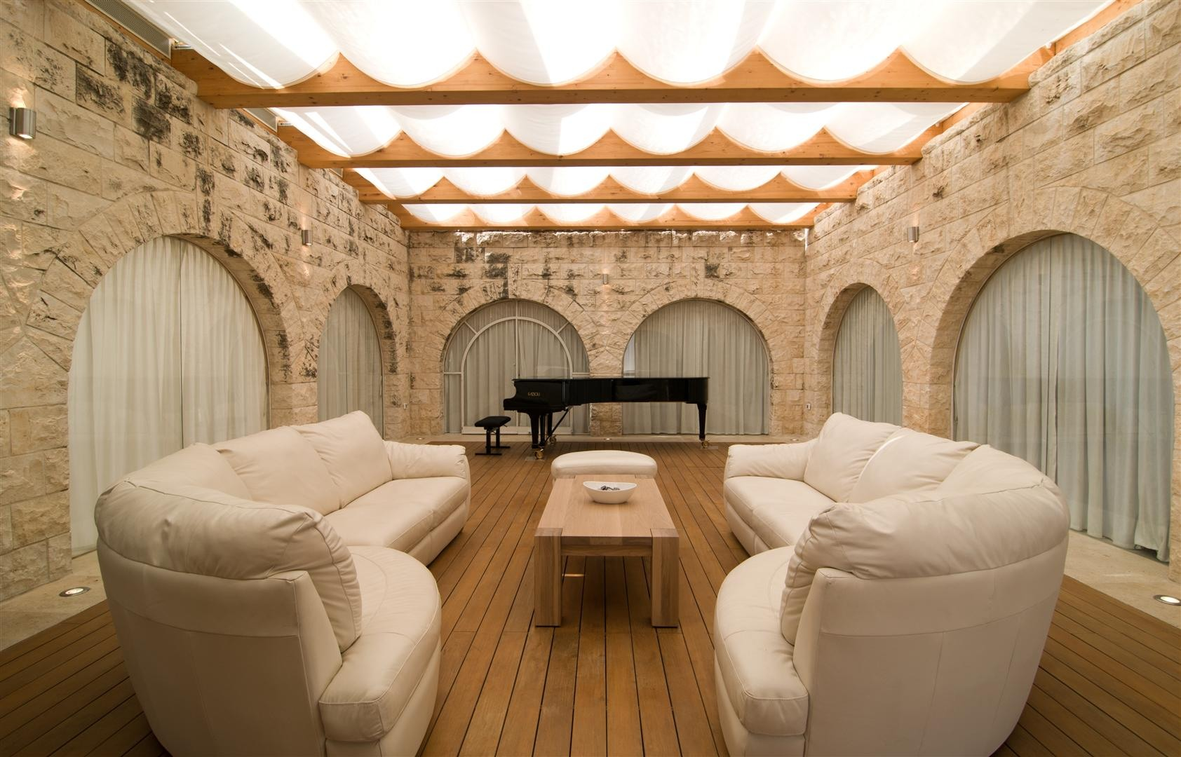 Contemporary Stone House In Jerusalem Israel