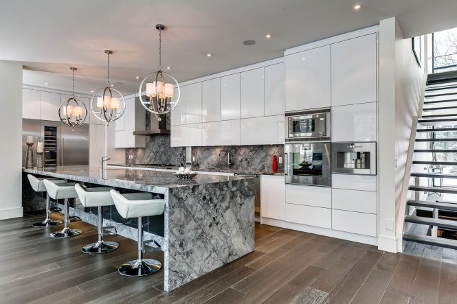 Kitchen Island Lighting Canada Captivating Contemporary House In Toronto