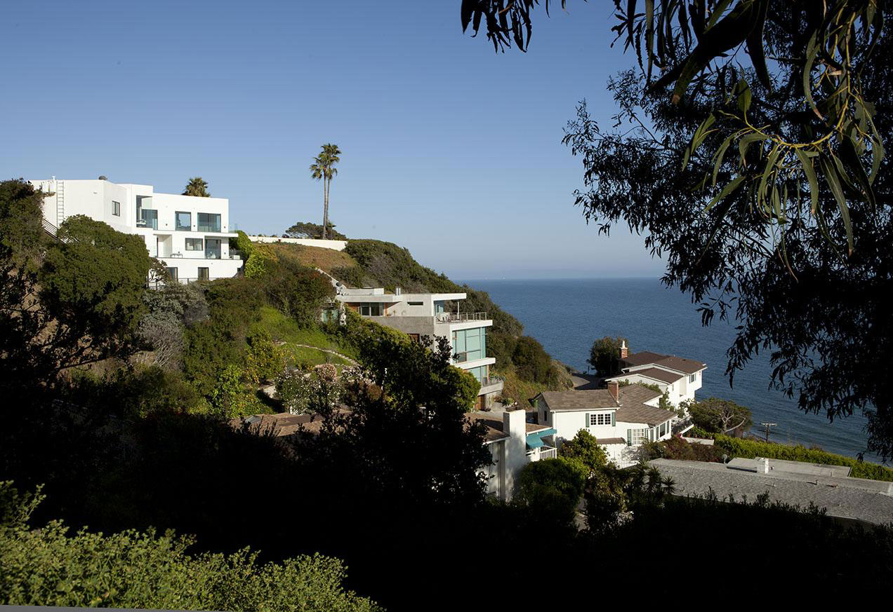 Clifftop House In Pacific Palisades Los Angeles