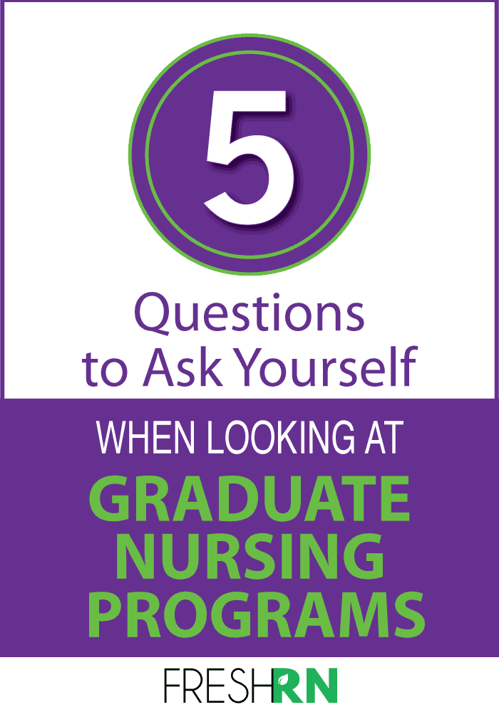 nursing graduate programs
