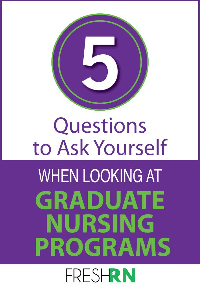 nursing graduate programs