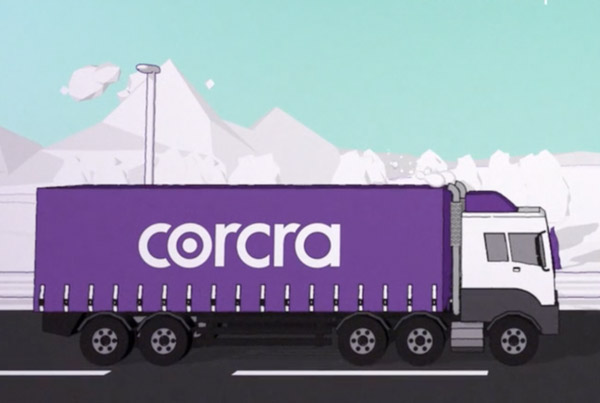 Corcra Silent Advert