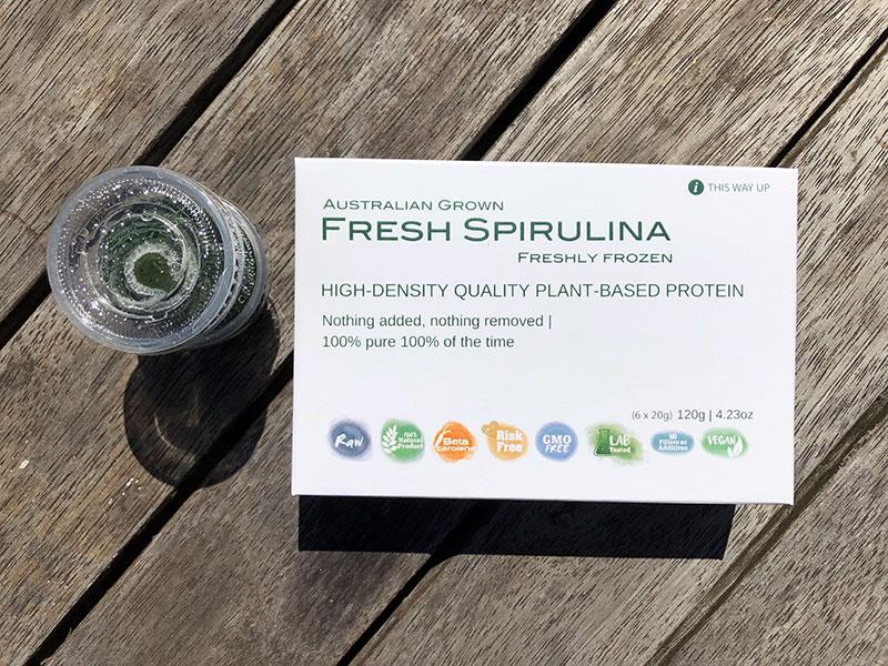 Fresh Spirulina Box