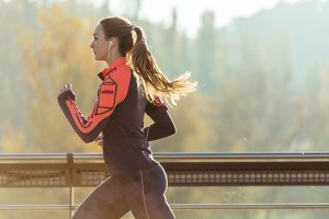 Fresh spirulina and sport - running and recovery