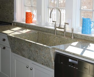 stone sinks for the kitchen and bath