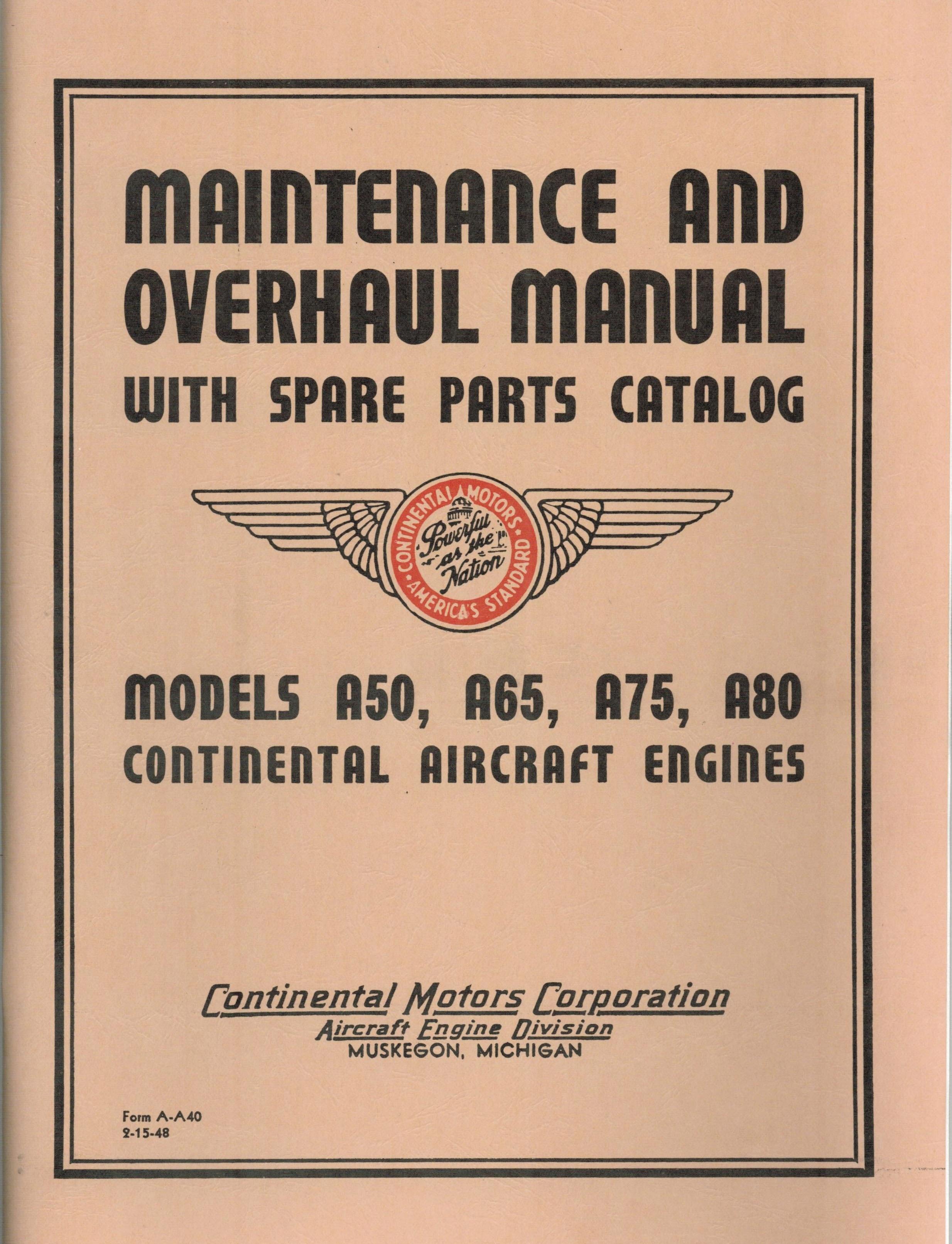 A-A40 Manual, A65, A75, & A80
