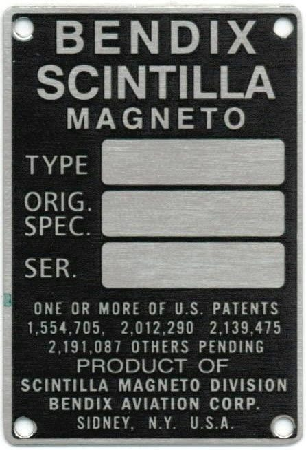 Bendix-Scintilla Magneto Archives - Fresno Airparts Co