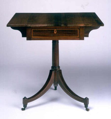 18th-century Portuguese winged table