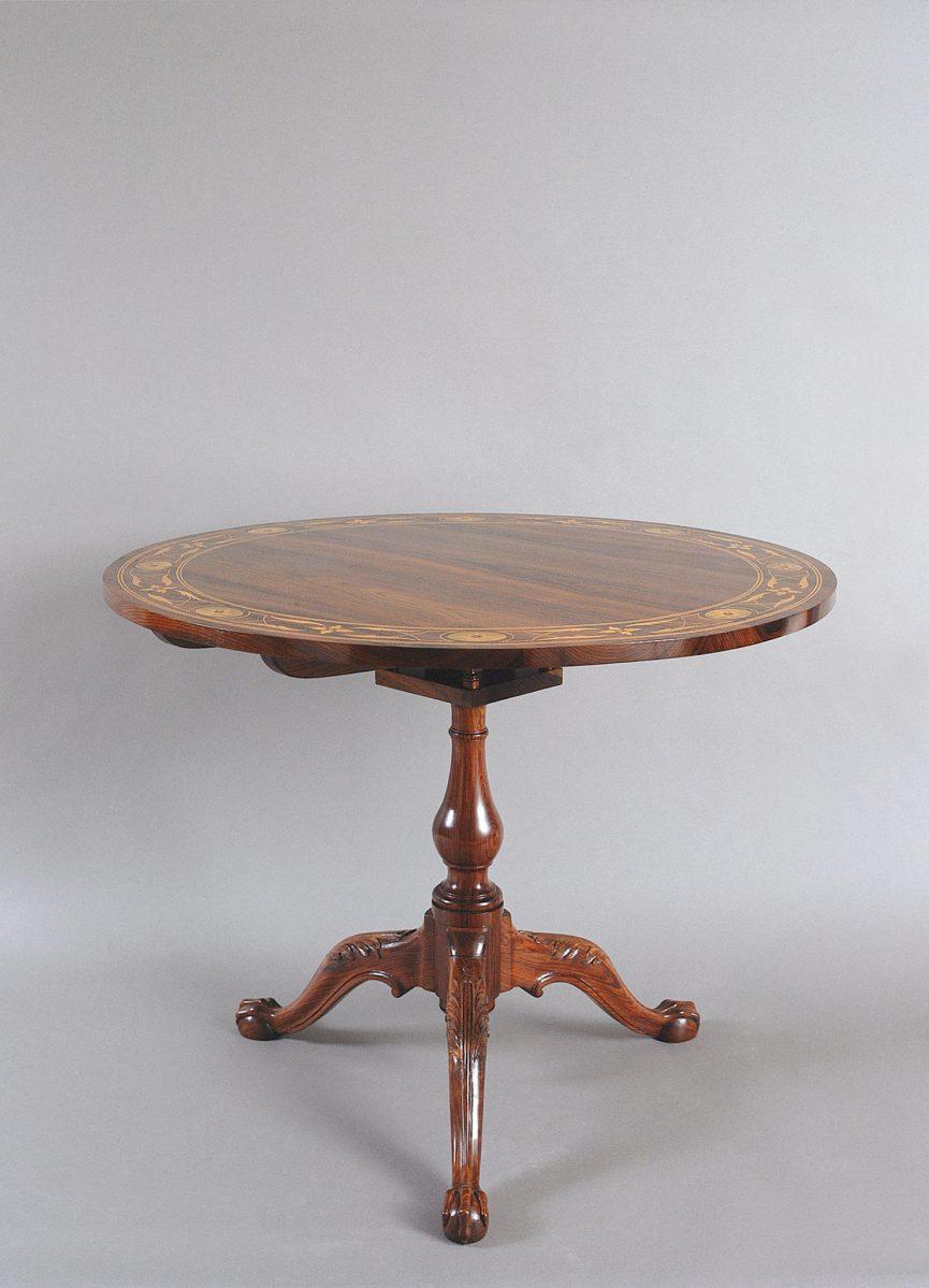 "18th-century Portuguese ""gaiola"" table"