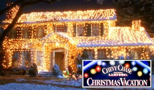 National Lampoons Christmas Vacation House In Lights1