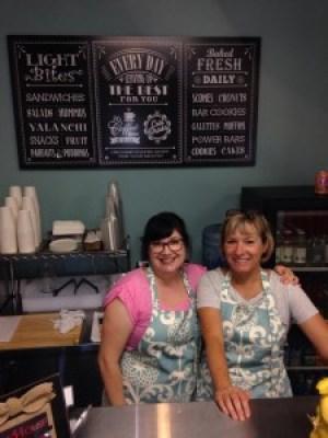 Donna Mott, Take Away Cafe, Gazebo Gardens