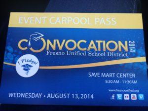 Car Pool Pass Fresno Unified School District