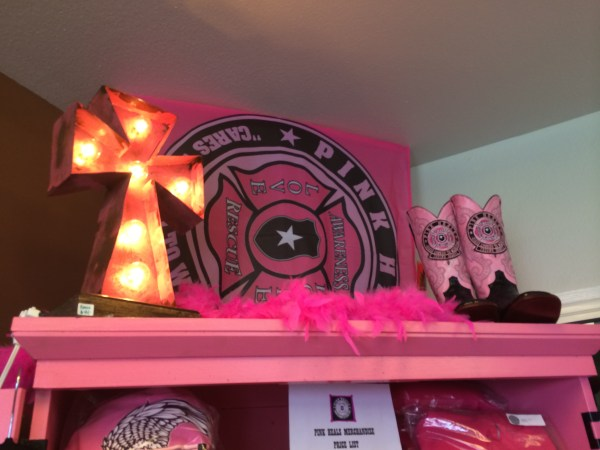The Pink Heals section