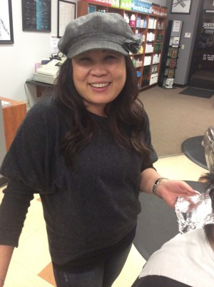 Hair Central owner Panee Fong.