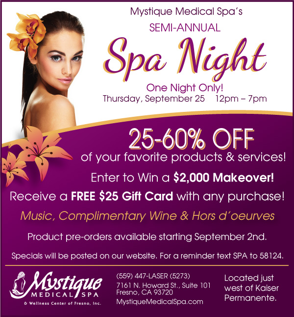 Mystique Medical Spa specials