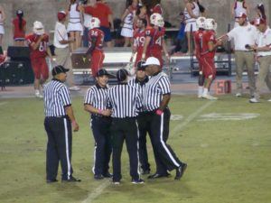 The refs called a lot of penalties