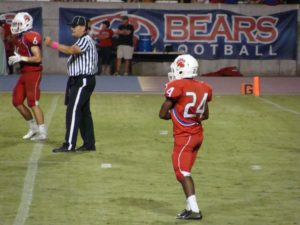Buchanan pressured the qb