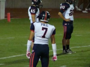 Memorial Wide Receiver Chris Paz