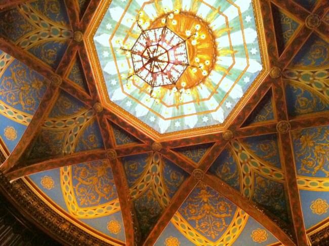 Warnor's beautiful ceiling
