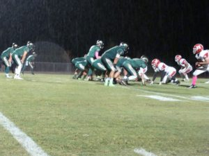 Liberty Offense in the rain
