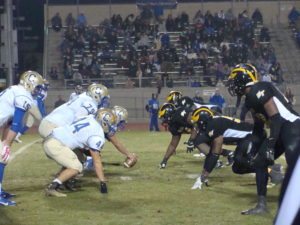 Clovis and Edison are lined up to face off