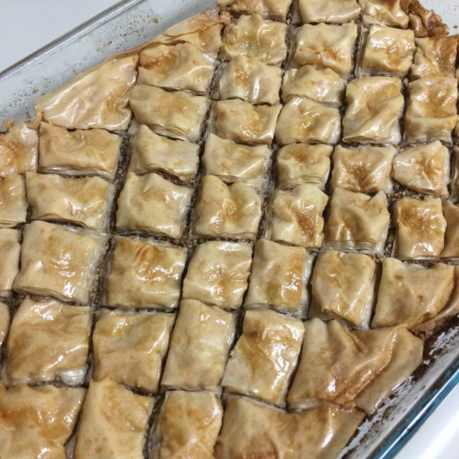Finished Baklava!