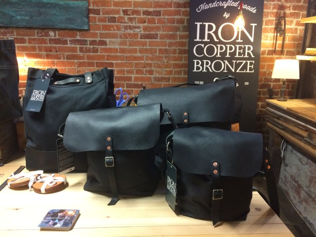 Bags at Iron Copper Bronze