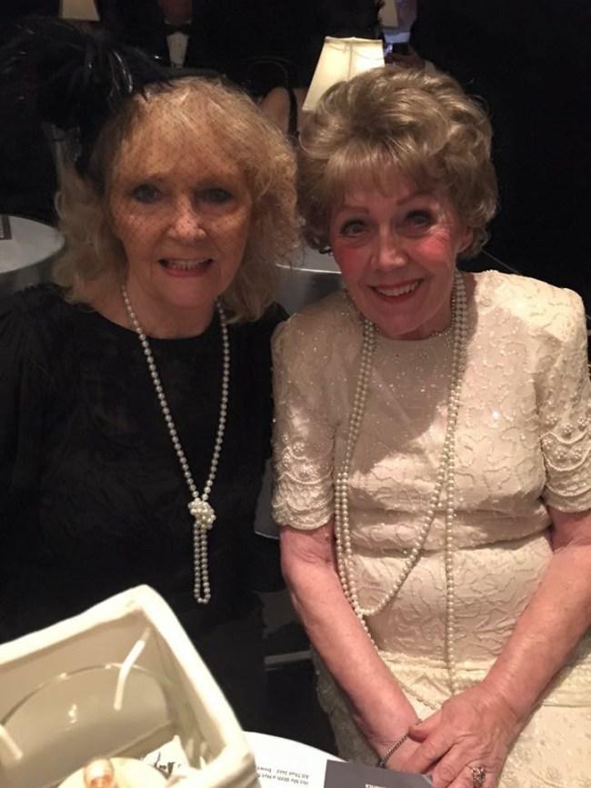 Jeannie Newman and Mary Jane Cavanaugh-Fisch