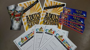 The adult & student reading logs from the Fresno County Library!