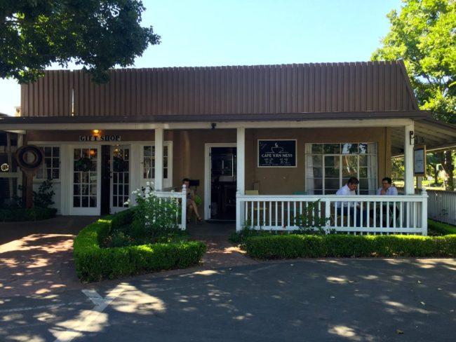 Cafe Van Ness exterior
