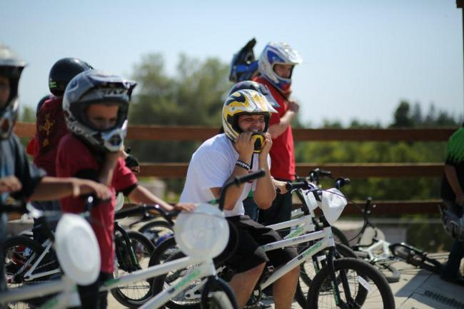 BMX Kids at the Freewheel Project