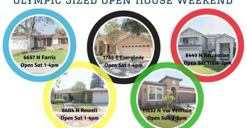 Olympic Sized Open House Weekend