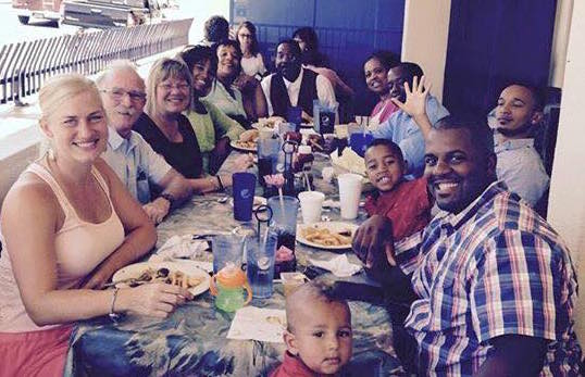 Pickett Family and friends at Irene's in Tower